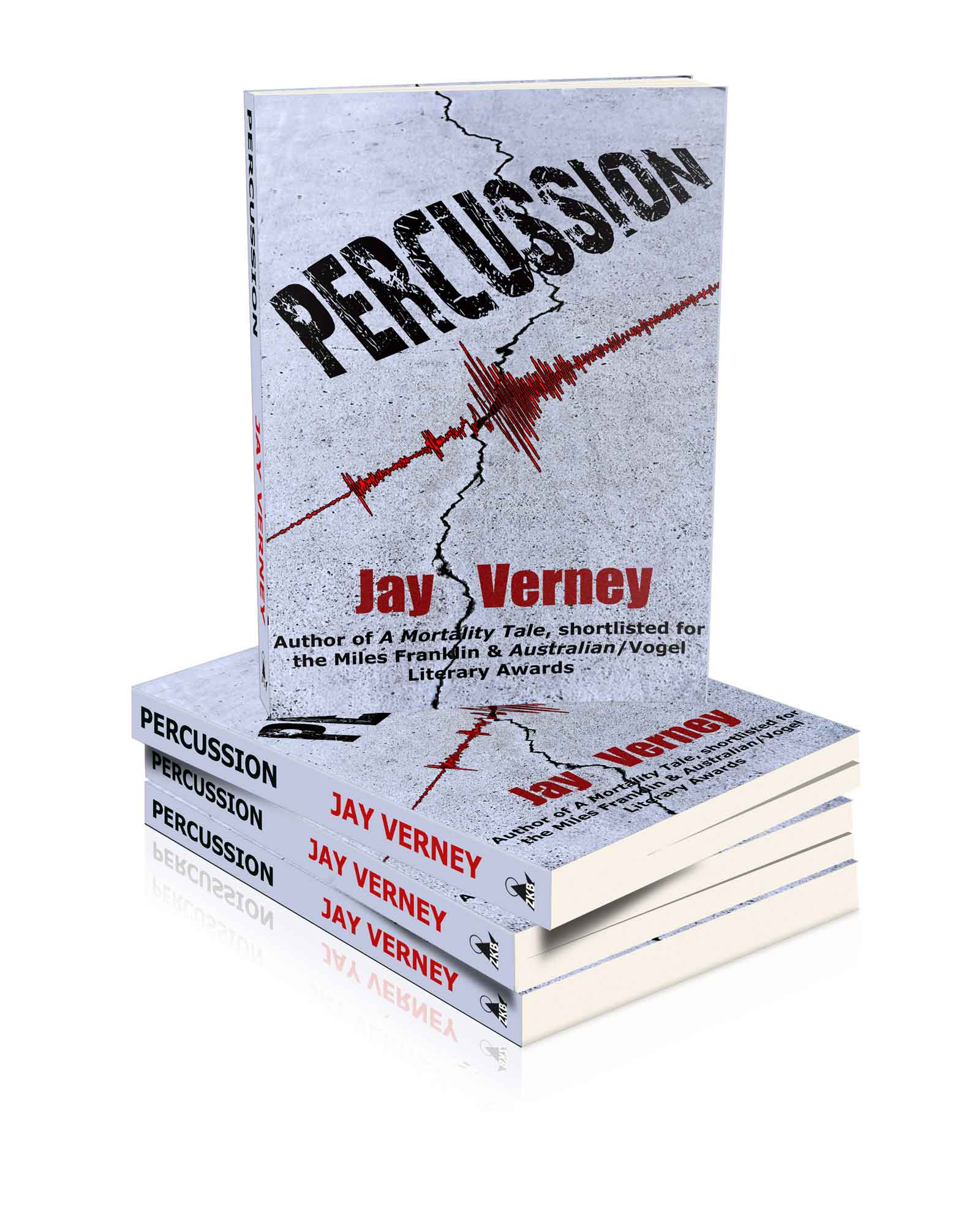 Cover image of novel Percussion