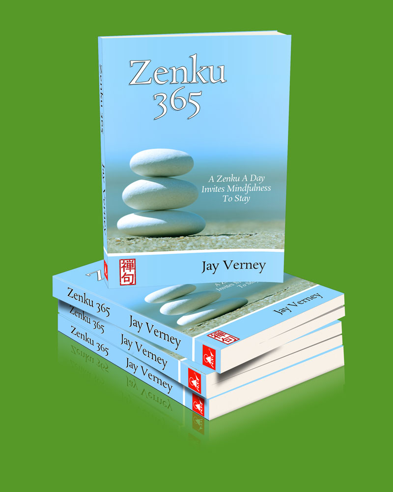 Book cover image for Zenku 365 haiku style poems